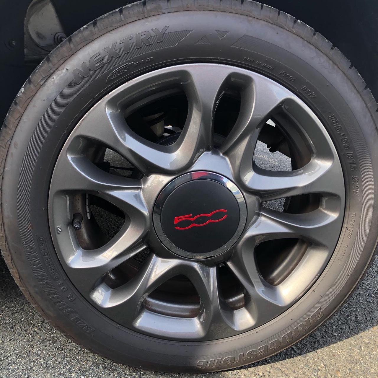 FIAT500S ホイール