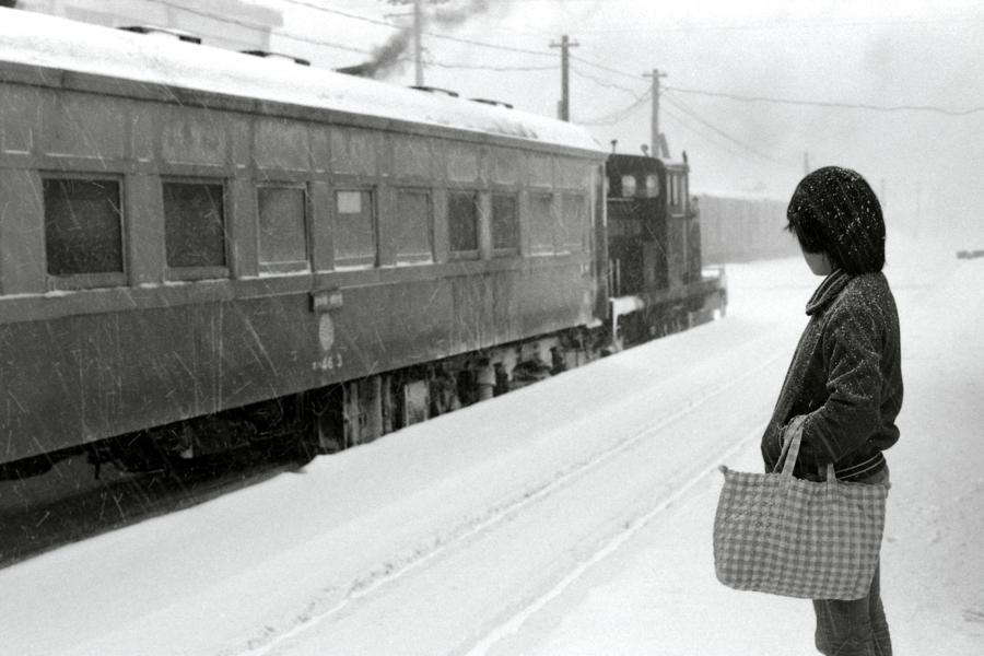 津軽鉄道 金木駅8 1984年1月 X970 AdobeRGB 16bit 原版 take1b