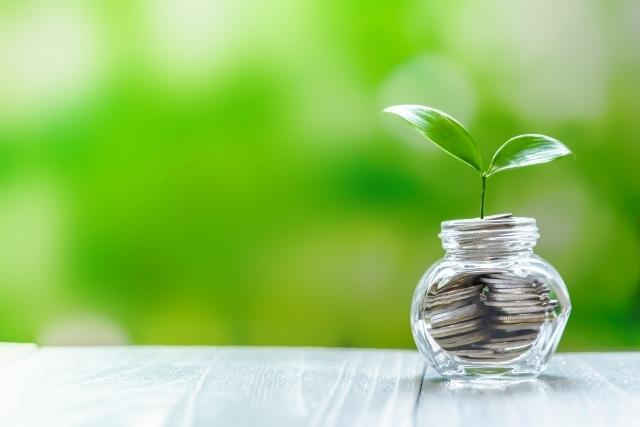 投資イメージ 緑