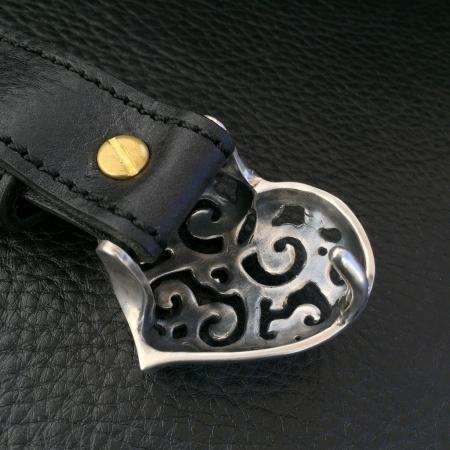 ガボール,ガボラトリー,シルバー,ベルト,ハート,バックル,Gaborataory,Gabor,Silver,Leather,Heart,Belt