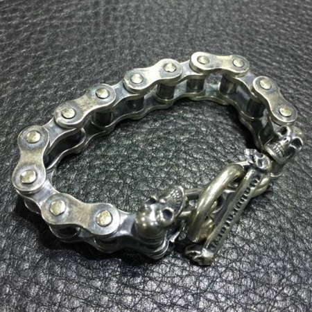 ガボール,ガボラトリー,シルバー,ブレスレット,バイクチェーン,Gaborataory,Gabor,Silver, Bracelet,Bike Chain