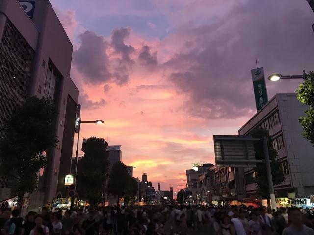 330うちわ祭(埼玉県熊谷市)