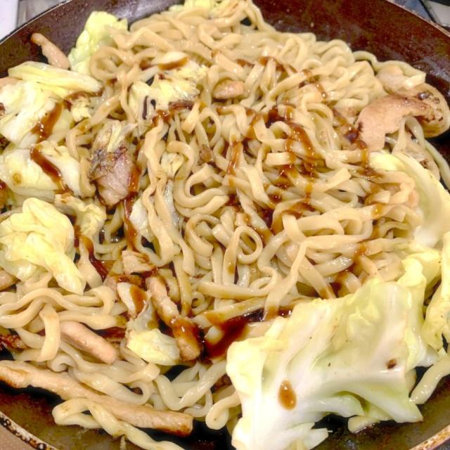 オーション焼きそば(大山製麺) (7)