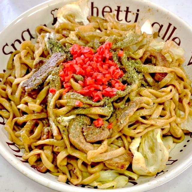 オーション焼きそば(大山製麺) (8)