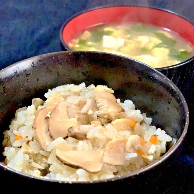 10 松茸ご飯