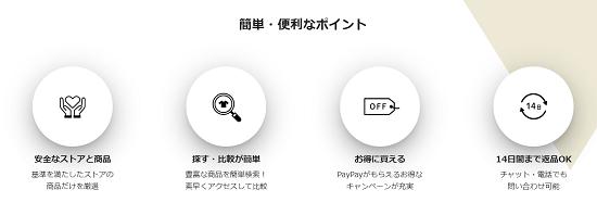 PayPayモール(ペイペイモール) 14日間まで返品OK