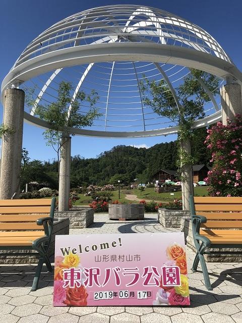 東沢バラ公園 1