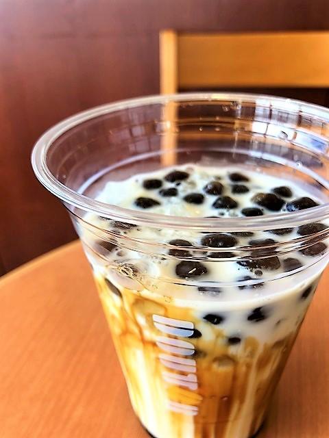 ドトールコーヒーショップ EneJet酒田店 タピオカ ~黒糖ミルク~