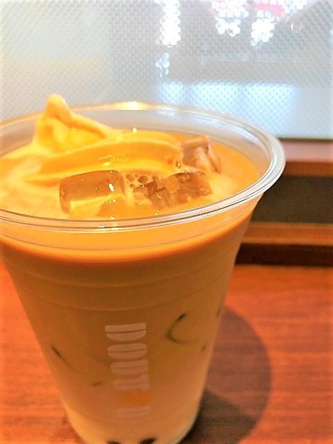 ドトールコーヒーショップ イオンモール三川店 タピオカロイヤルミルクティーフロート