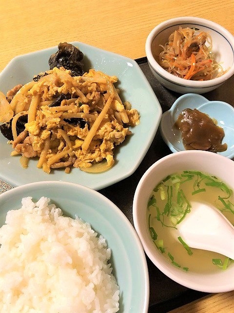 中華料理 桃園 日替わりランチ