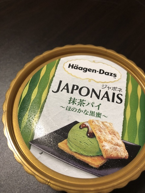 ハーゲンダッツ ジャポネ 抹茶パイ ~ほのかな黒蜜~1