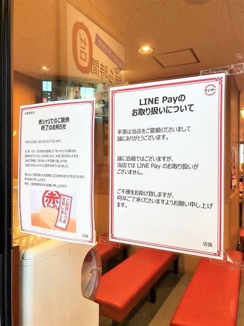 回転寿司 スシロー 天童店 ラインペイ