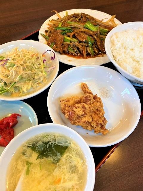 台湾料理 一番亭 ニラレバーランチ