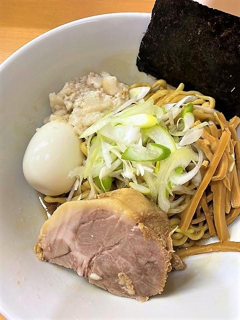 らぁ麺と肴 榊 にぼ汁なし