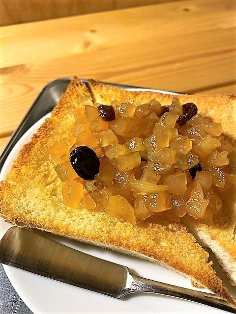 喫茶 クローク りんごジャムトースト