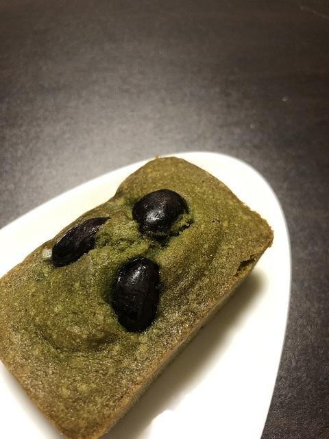 焼き菓子 しょかん 丹波黒豆とくわ葉のケーキ