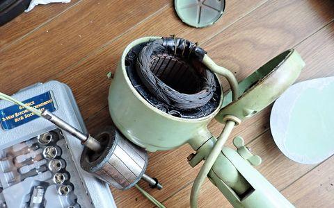 扇風機の修理 4