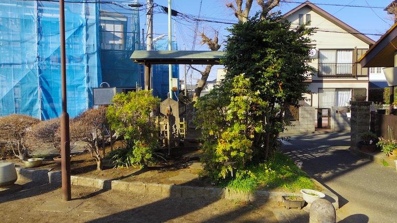 「山野庚申塚」ー市指定有形民俗文化財(民俗)ー