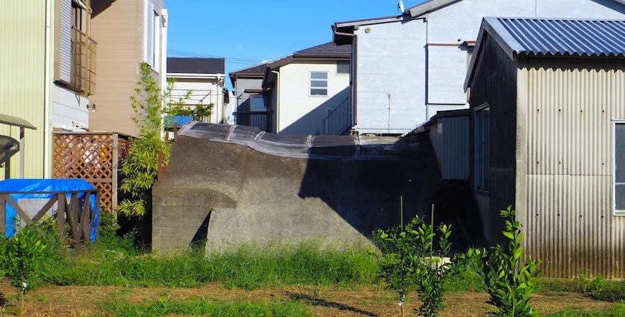 「朝日町の掩体壕」