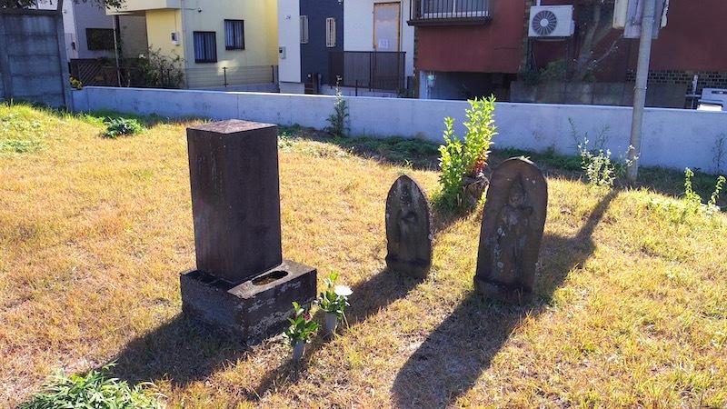 小金井市「梶家墓所」