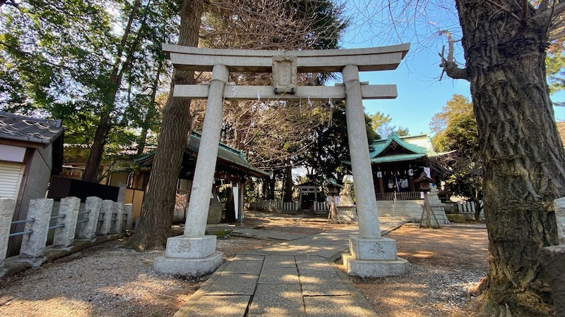 「小山八幡神社」1