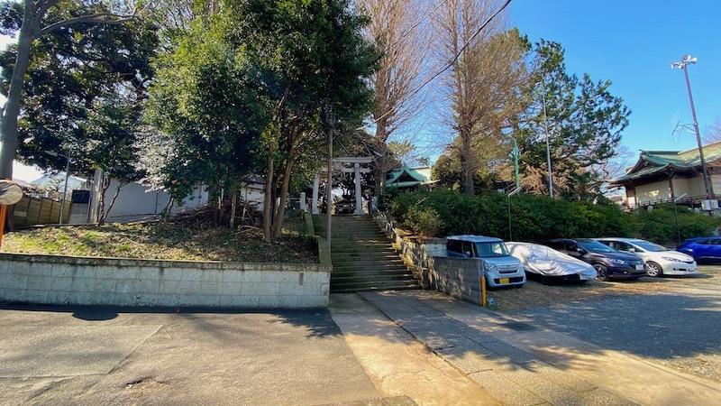 「小山八幡神社」2