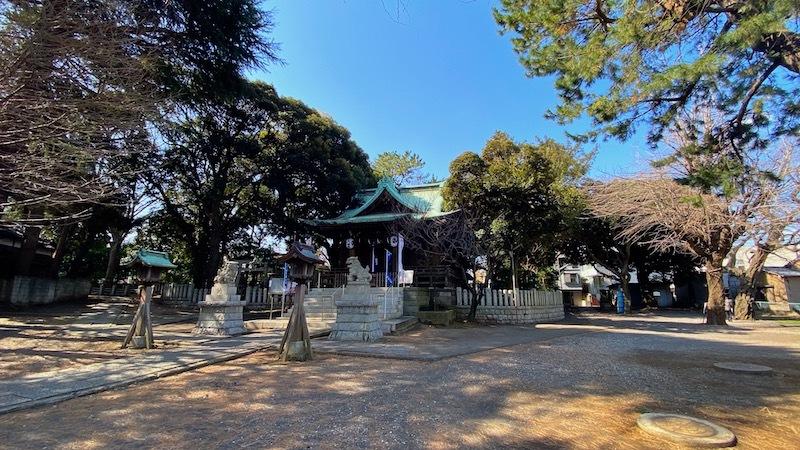 「小山八幡神社」3