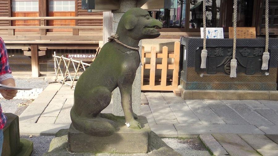 御嶽神社3狛犬