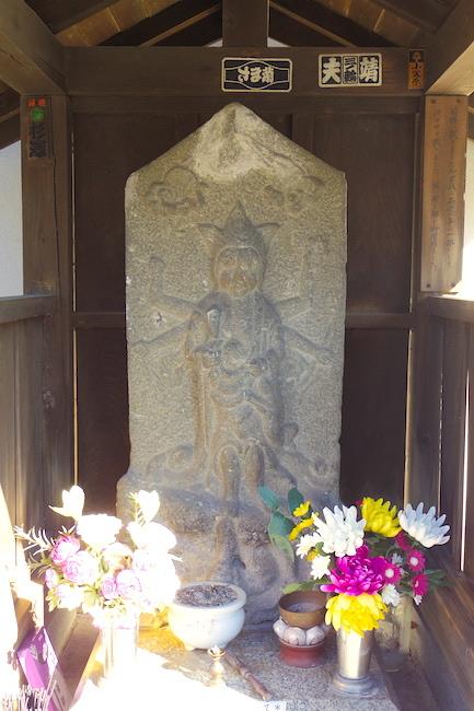 御嶽神社18西嶺町34番地の庚申塔