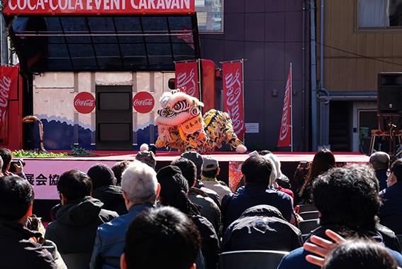 春節獅子舞