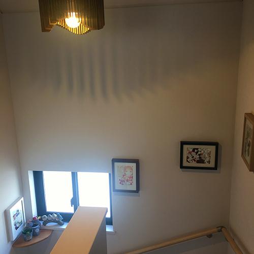 わが家の階段はギャラリースペース⑤