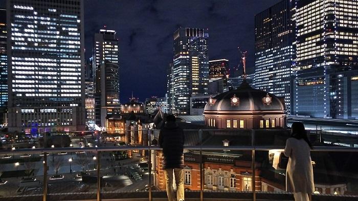 20200109kitteからの東京駅