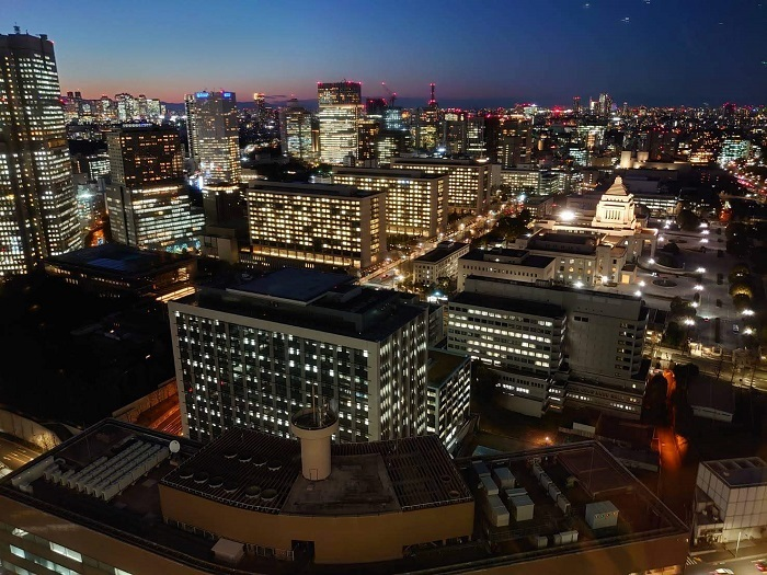 20200206霞が関ビル35階から