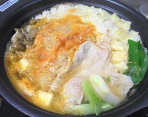 創味シャンタンキムチ鍋