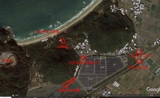 白石浜海水浴場利用組合駐車場