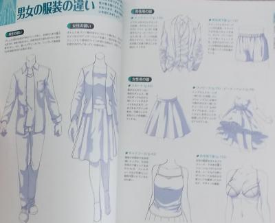 デジタルイラストの服装の描き方事典 (3)