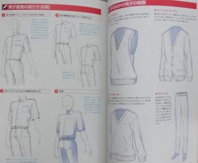 デジタルイラストの服装の描き方事典 (14)