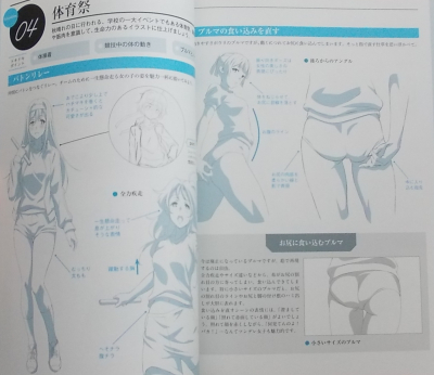女の子の仕草を描くイラストポーズ集 (4)