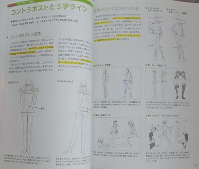 イラスト、漫画のための構図の描画教室 (5)