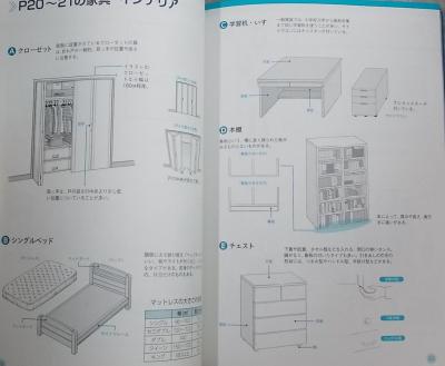 マンガ背景資料 キャラの部屋とインテリア (3)