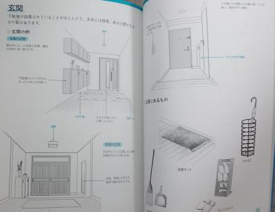 マンガ背景資料 キャラの部屋とインテリア (11)