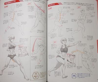 格闘アクションポーズ作画テクニック集 (6)