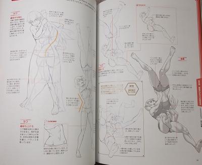 格闘アクションポーズ作画テクニック集 (9)