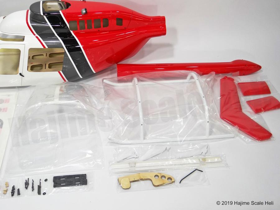 Bell206 ジェットレンジャー 700-3