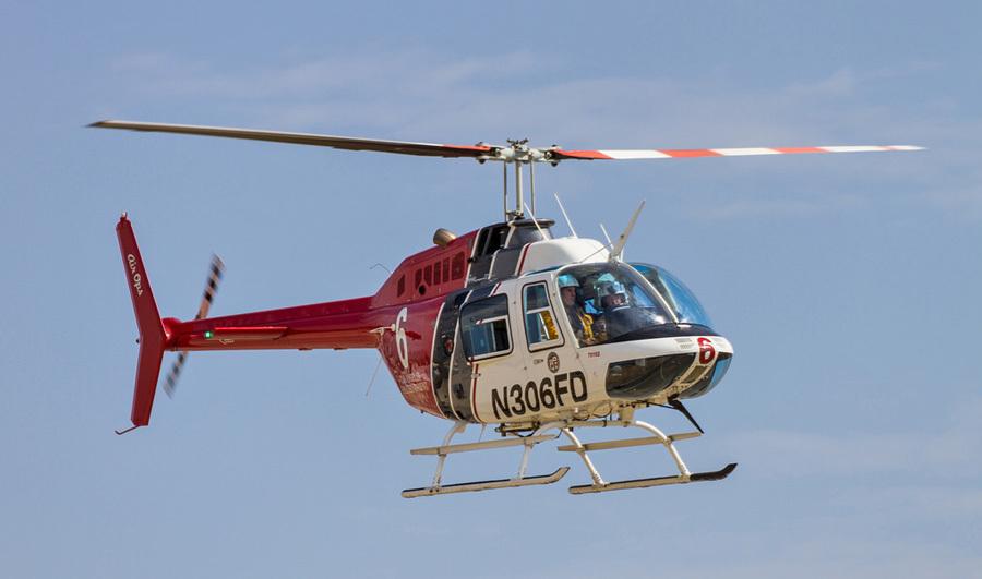 Bell206 ジェットレンジャー 700-7