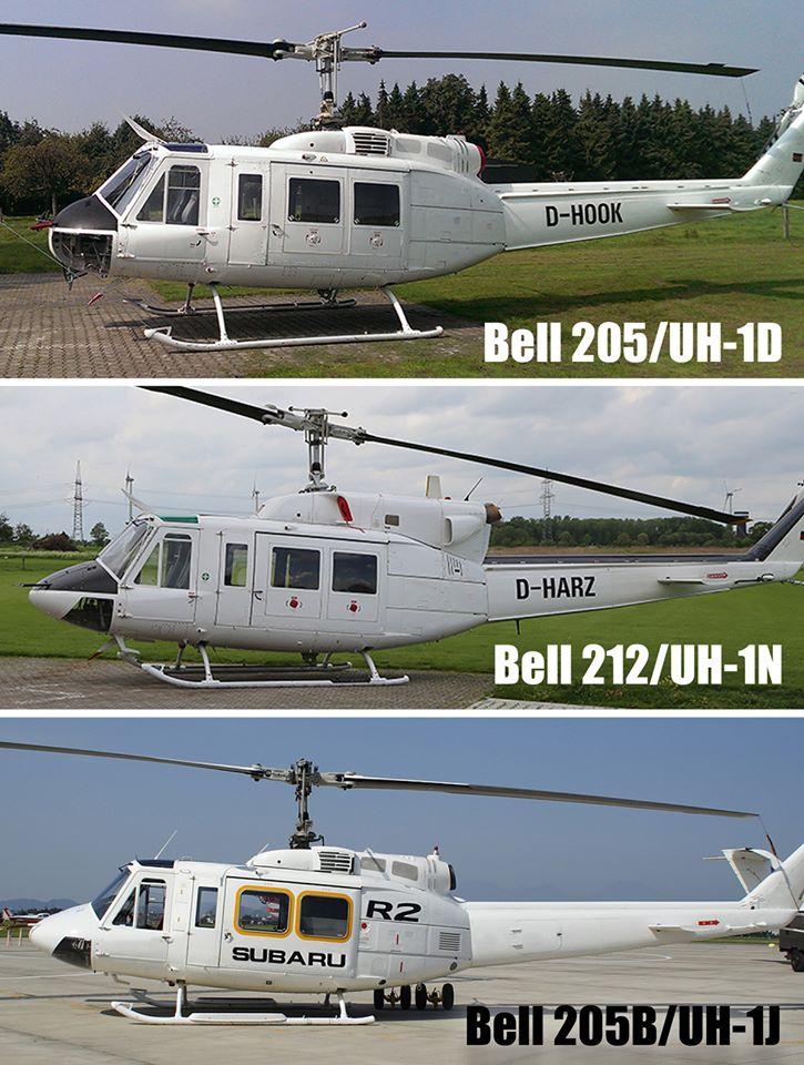 UH-1J比較