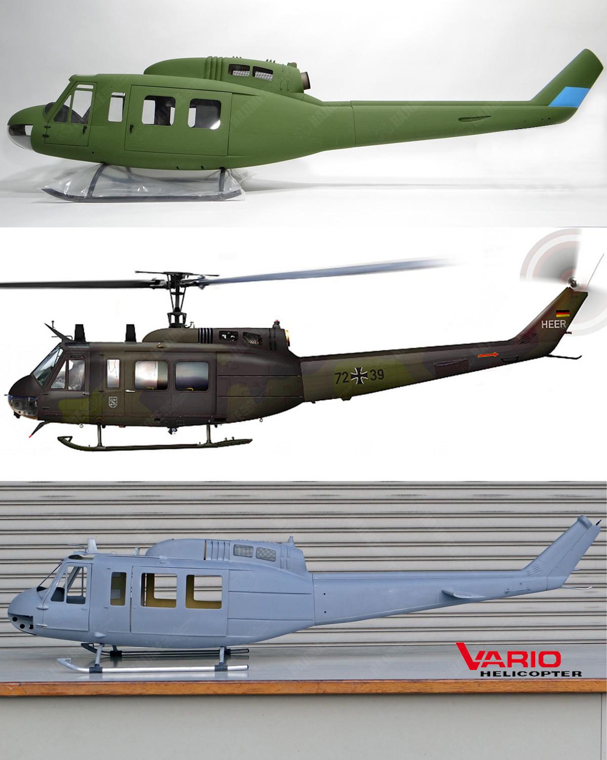 BellUH-1D-Vario比較-2