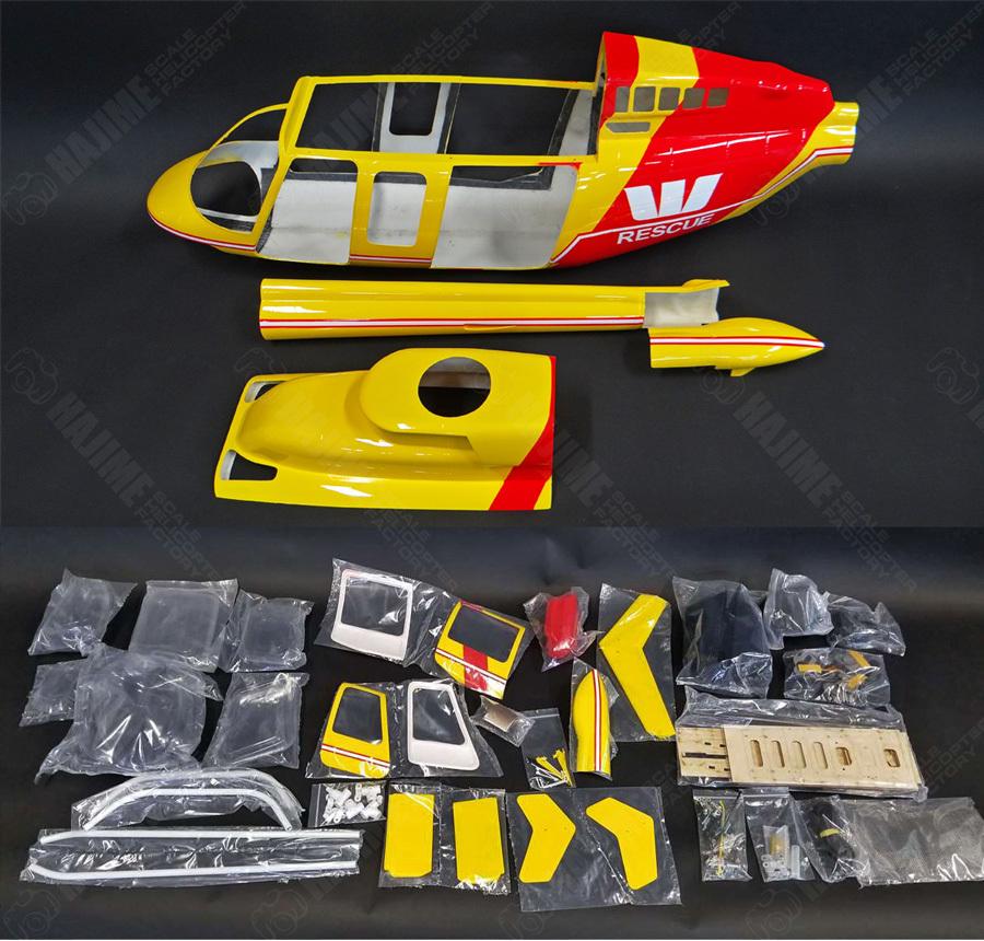 FUN-RC-Bell407-付属パーツ