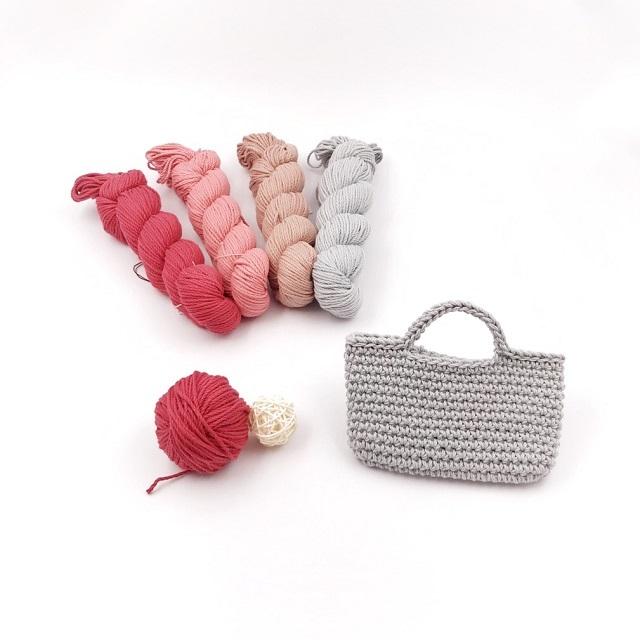 手編み雑貨 HanahanD 極太 コットン Kiwamiシリーズ 糸 仕入れ
