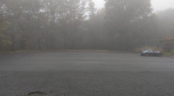 霧降の滝駐車場